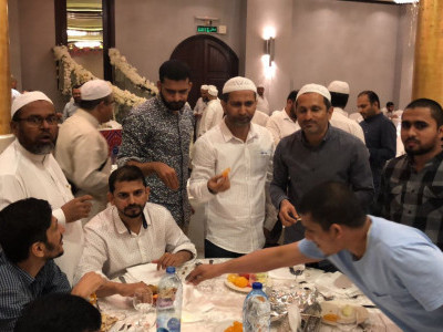 Iftar Party at Jeddah; Bhatkal Jamia delegation welcomed by Bhatkal Muslim Community Jeddah