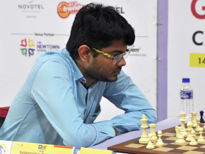 گرینڈ سری ناتھ کولکاتہ اوپن شطرنج میں ٹاپ پر پہنچے