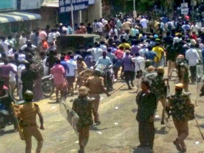 توتی کورین تشدد: تمل ناڈو حکومت نے جانچ کمیشن قائم کی