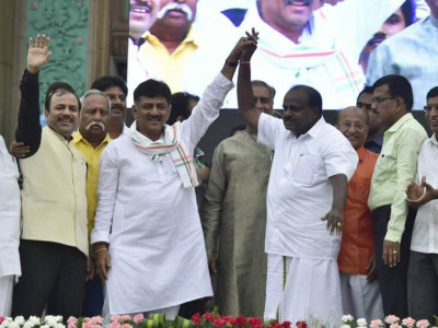 We have tied the Ashwamedha horse of Modi: Karnataka CM H D Kumaraswamy