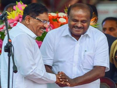 'کرناٹک :فلور ٹیسٹ سے پہلے بولے کمار سوامی، 'کوئی ٹینشن نہیں ،اکثریت ثابت کروں گا