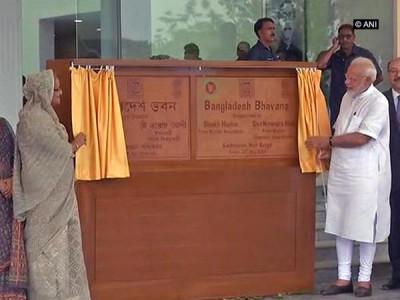 PM Modi, Hasina inaugurate Bangladesh Bhavan