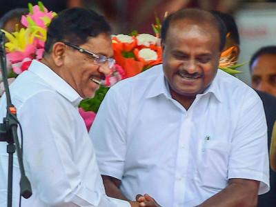 بی جے پی کے والک آوٹ اور کافی ہنگامہ آرائی کے درمیان کرناٹکا کے وزیراعلیٰ کماراسوامی نے اپنی اکثریت ثابت کرتے ہوئے فلور ٹیسٹ میں پائی کامیابی