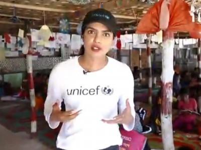 عالمی شہری ہونے کے ناطے روہنگیا بچے پوری دنیا کی ذمہ داری ہیں:پرینکا چوپڑہ