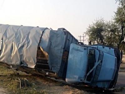 حادثے میں سی آر پی ایف کے 19جوان زخمی