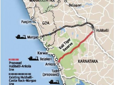 NTCA rejects Hubballi-Ankola railway line proposal again