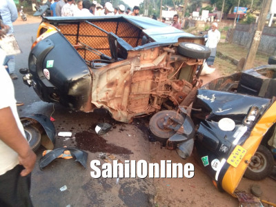 Multiple vehicles collision on Bhatkal NH66 kills 1, injures 5