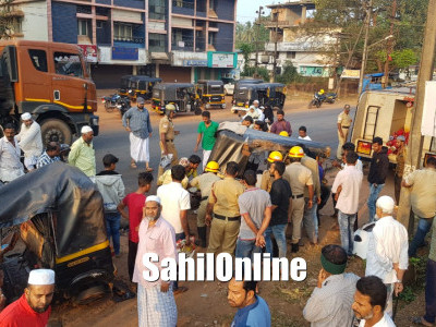 Multi vehicles collision on Bhatkal NH66 kills 1, injures 5