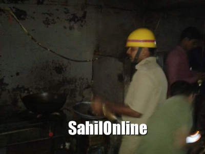 Fire erupts at a restaurant in Ankola