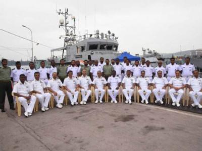 بھارتی بحریہ نے مالدیپ کی کوسٹ گارڈ کے جہاز ''ہوراوی'' کی مرمت مکمل کی