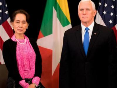Pence Condemns Suu Kyi over Rohingya persecution