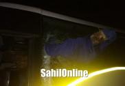 بھٹکل میں والوو بس کی درخت سے ٹکر؛  ٹہنی گرکر بس کے اندر گھس گئی؛ایک کی موقع پر موت