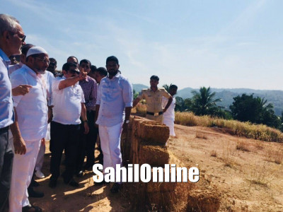 Minister B Z Zameer Ahmed Khan Inspected the Land which is Proposed for Construction the Hajj Ghar at Valachil Adyar in Mangaluru