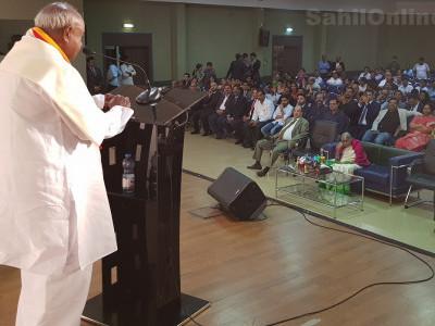سابق وزیراعظم دیوے گوڈا کی دبئی آمد پر تہنیتی پروگرام؛ پہلے ملک کے اندرونی مسائل حل کرنے کی طرف توجہ ہونی چاہئے؛ گوڈا نے مودی پر کسا طنز