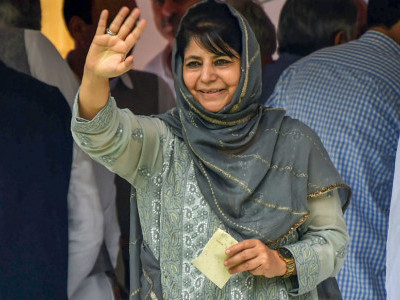 Idea of a grand coalition in J-K sent BJP jitters: PDP chief Mehbooba Mufti