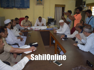 Preparatory meeting held ahead of Tipu Sultan Jayanti in Bhatkal