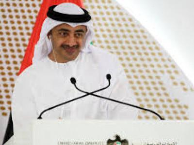 سعودی عرب کے ساتھ کھڑا ہونا شرف کے شانہ بشانہ ہونا ہے: عبد اللہ بن زائد