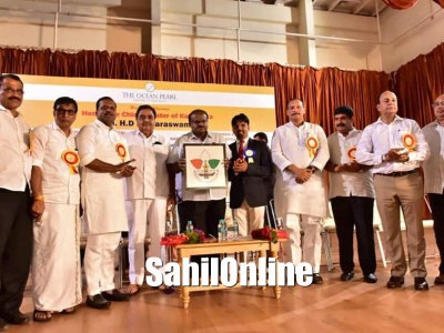 Chief minister H D Kumaraswamy inaugurated Brand Mangaluru and Journalists' village stay project in Mangaluru