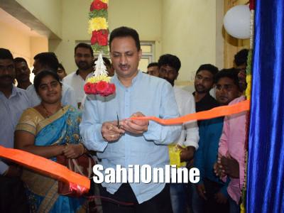 Union minister for skill development and entrepreneurship Anant Kumar Hegde inaugurates Jan Aushadhi Kendra in Bhatkal