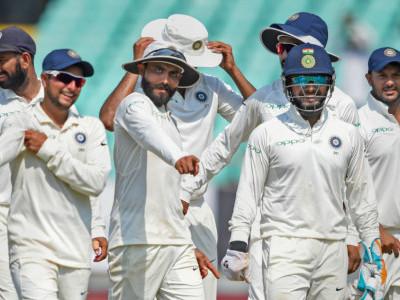 حیدرآباد ٹیسٹ میں ہندوستان نے ویسٹ انڈیز کو 10 وکٹوں سےہرادیا ، سیریز پر بھی کیا قبضہ