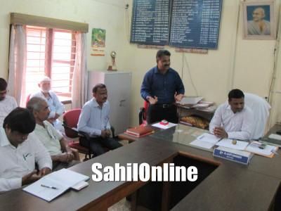 Preparatory meeting of Kannada Rajyotsava held at Tahshildar office, Bhatkal