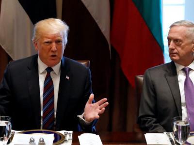 ٹرمپ کا وزیر دفاع جم میٹس کو ہٹانے کا اشارہ