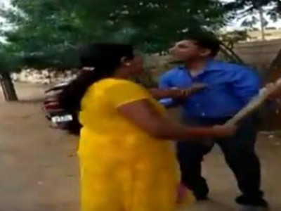 Woman thrashes bank manager for demanding 'sexual favours', video goes viral