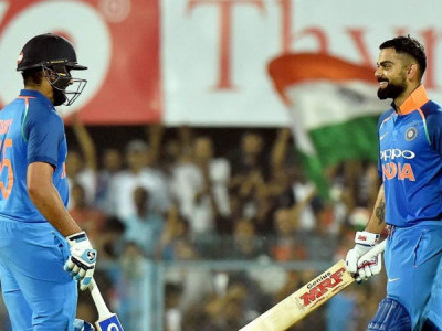 Rohit Sharma, Virat Kohli tons ensure easy win for India against West Indies in 1st ODI