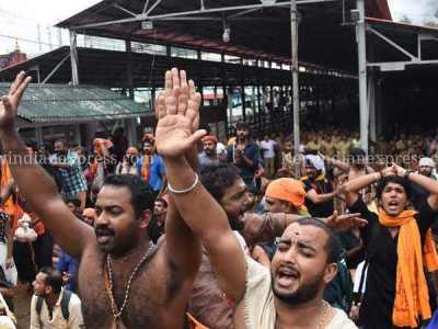SC declines to stay its verdict allowing women of all ages into Sabarimala temple