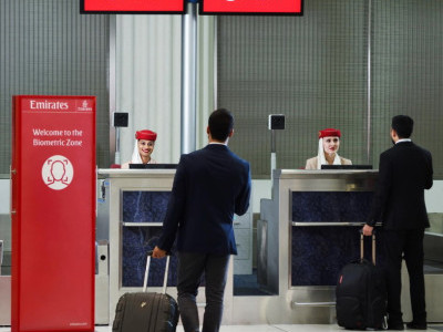Now, clear immigration without passport when you fly Emirates