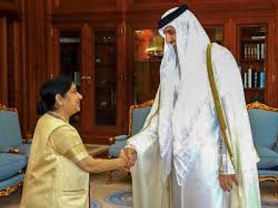 After successful talks with Qatar Sheikh Tamim Bin Hamad, MEA Sushma Swaraj to visit Kuwait next