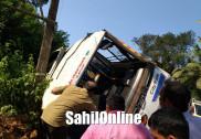 ہوناور کے گنونتے قومی شاہراہ پر سڑک حادثہ :2کی موت ،آٹھ سے زائد زخمی
