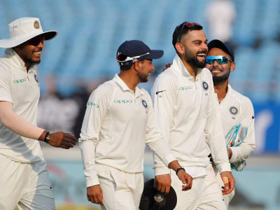 India beat West Indies by innings and 272 runs