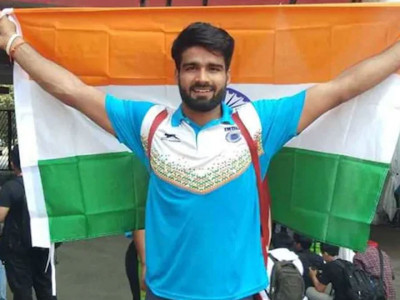Javelin thrower Sandeep opens India's gold account at 3rd Asian Para Games