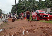 Rider killed as car rams into bike in Murdeshwar