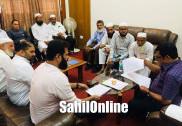 مرڈیشورجماعت کےوفد کی ریاستی کابینہ کے وزیر ضمیر احمد خان سےملاقات : شہری مسائل کو حل کرنے کا مطالبہ لے کر سونپا گیا میمورنڈم