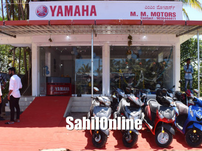 Yamaha showroom gets inaugurated in Byndoor