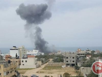 غزہ پٹی کی سرحد کے نزدیک اسرائیلی حملے میں 2 فلسطینی جاں بحق