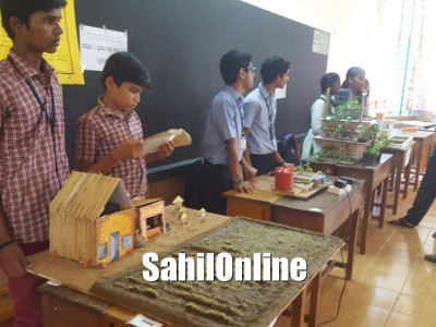 Bhatkal Taluka level science exhibition held at Anand Ashram convent school