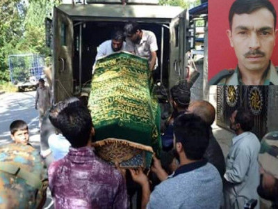 Coward Terrorists Kill Soldier Who Had Gone Home To Mourn Son's Death