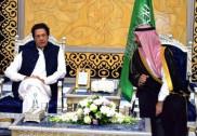 وز یر اعظم عمرا ن خا ن نے سعودی عرب کا پہلا غیر ملکی دورہ کیا