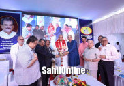 Heggade launches new products of 'Srikrishna Milks' in Yellapur