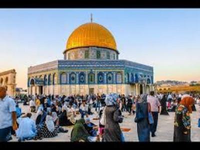 مذہبی تہوار کی آڑ میں ہزاروں یہودیوں کی قبلہ اول میں آمد ورفت جاری
