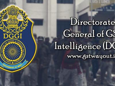 جی ایس ٹی انٹیلی جنس کے ڈائریکٹوریٹ جنرل کے گروگرام زونل یونٹ دو تاجروں کو گرفتار کیا