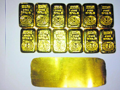 Passenger, airport officer arrested for gold smuggling in Mangaluru