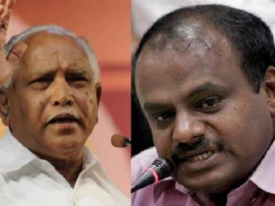 Political war between JDS & BJP escalates in Karnataka