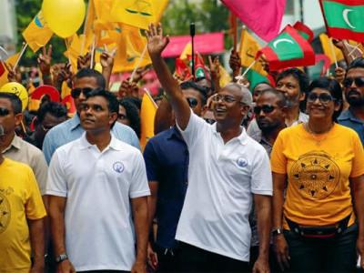 مالدیپ کے صدارتی انتخابات میں اپوزیشن امیدوار ابراہیم محمد سولیح جیتے