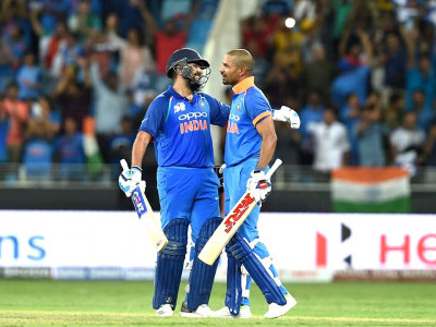 Rohit, Dhawan's tons propel India to Asia Cup finals