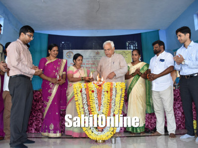 Uttara Kannada district incharge minister R V Deshpande inaugurates