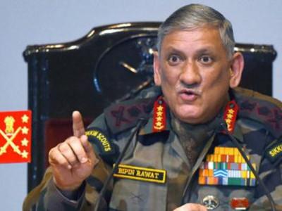 جموں و کشمیر کے حالات خراب، ایک اور سرجیکل اسٹرائیک کی ضرورت: آرمی چیف جنرل بپن راوت